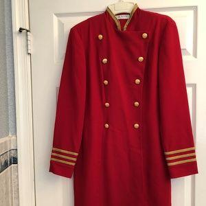 Chaus Red Sailor Dress